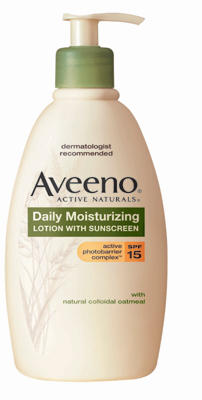 Aveeno Daily Moisturizing Lotion with SPF 15