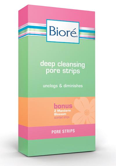 Biore Mandarin Blossom Nose Strips