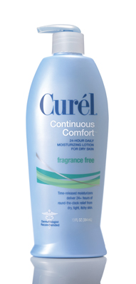 Curel Continiuous Comfort Fragrance Free Moisture Lotion