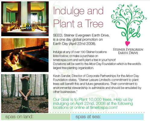 Elemis Earth Day Celebration