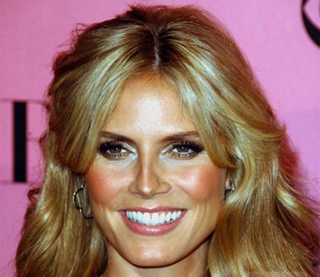 heidi klum hair color. Heidi Klum launches a new skin