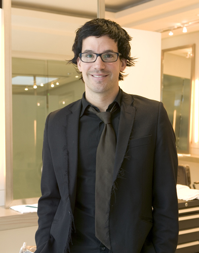 Guy Riggio-stylists at the Serge Normant at John Frieda Salon in LA.