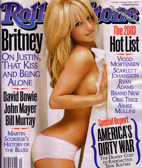 britney spears rolling stone 2008