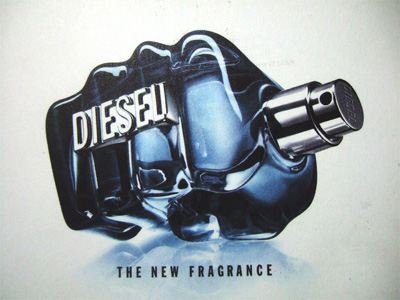 Diesel cologne fist