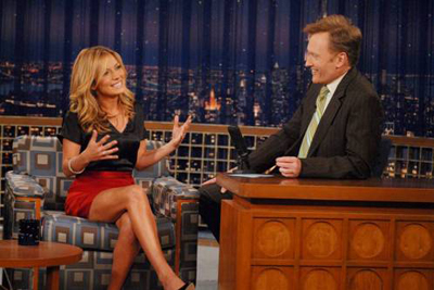 Becki Newton on Conan O'Brien Show
